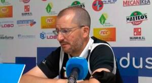 Romero, durante su comparecencia de prensa en La Juventud