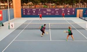 Imagen de uno de los primeros partidos del torneo
