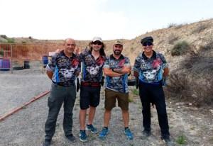 Los integrantes del equipo ceutí participante en Las Gabias
