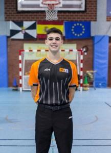 El árbitro ceutí Raúl Martínez