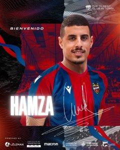 El Levante UDFS le ha dado así la bienvenida a Hamza Maimon