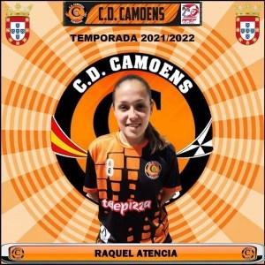 Raquel Atencia volverá a defender los colores del Camoens