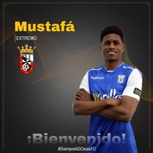 Así ha dado el Ceuta la bienvenida a Mustafá