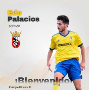 Edu Palacios defenderá los colores del Ceuta B