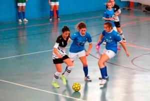 Un lance del Peña Santillana - Bahía de Ceuta disputado el pasado 19 de junio en Málaga