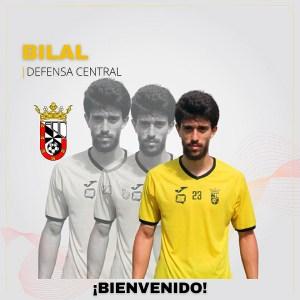 Bilal, un nuevo central para el filial de la AD Ceuta FC 'B'