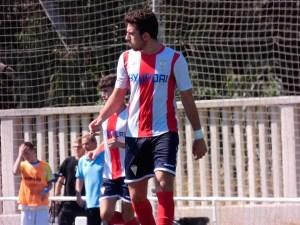 Ezequiel León, defensa central del Algeciras CF