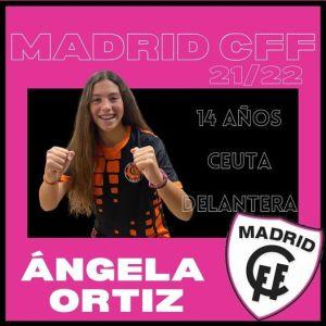 La ceutí Ángel Ortiz se va al Madrid CFF