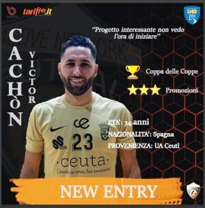 Así ha anunciado el equipo italiano el fichaje de Víctor Cachón