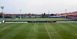 El partido se ha disputado en el Marbella Football Center