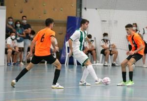 Una imagen del partido disputado por el Ceutí el pasado sábado ante el Córdoba Patrimonio de la Humanidad