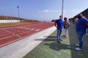 Las obras de la pista de atletismo se iniciaron en la primavera de 2019