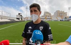 Juanma Pavón, entrenador del Villanovense