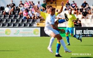 Raíllo, durante el partido del pasado domingo ante el filial de la UD Las Palmas