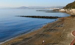 Algunos de los participantes, en la playa de El Chorrillo / Foto: Salva Camacho