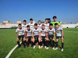 Formación del Sporting Atlético, este sábado en el Alfonso Murube