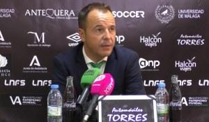 José Manuel Borrego 'Tete', entrenador del UMA Antequera