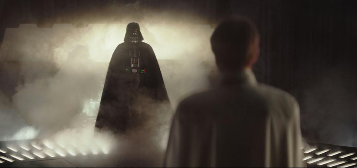 Darth Vader and Orson Krennic