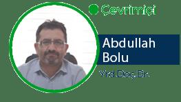 Yrd.Doc.Dr . Abdullah Bolu