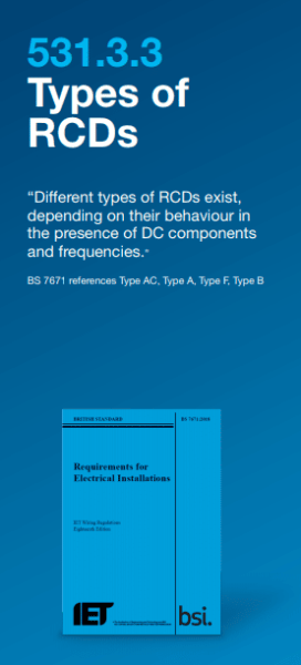 Types of Hager RCDs