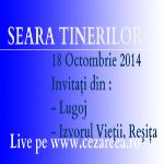 Seara Tinerilor, 18 Oct. 2014, 1