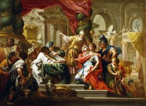 Alexandru cel Mare în Templul din Ierusalim