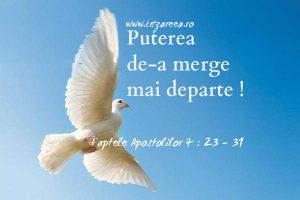 Faptele Apostolilor 4.23-31