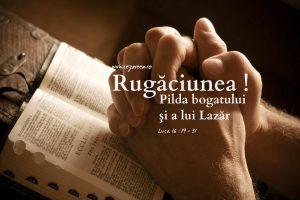 Luca 16.19-31, Rugăciunea