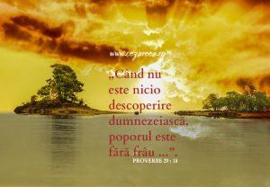 Proverbe 29.18, (3)