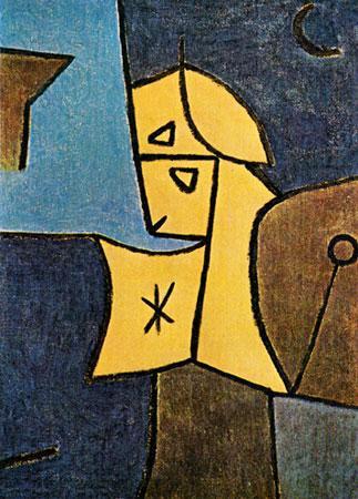 Paul Klee, Guardian Celeste, 1948