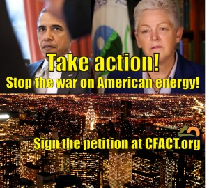 Peition stop the war on energy