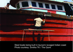 Boats of steel: Resilience of tsunami-ravaged fishing communities in southern India 1