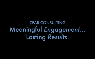Meaningful Engagement…Lasting Results