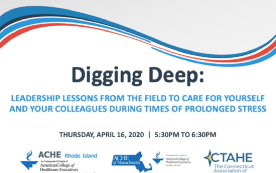 Digging Deep: Leadership Lessons From the Field