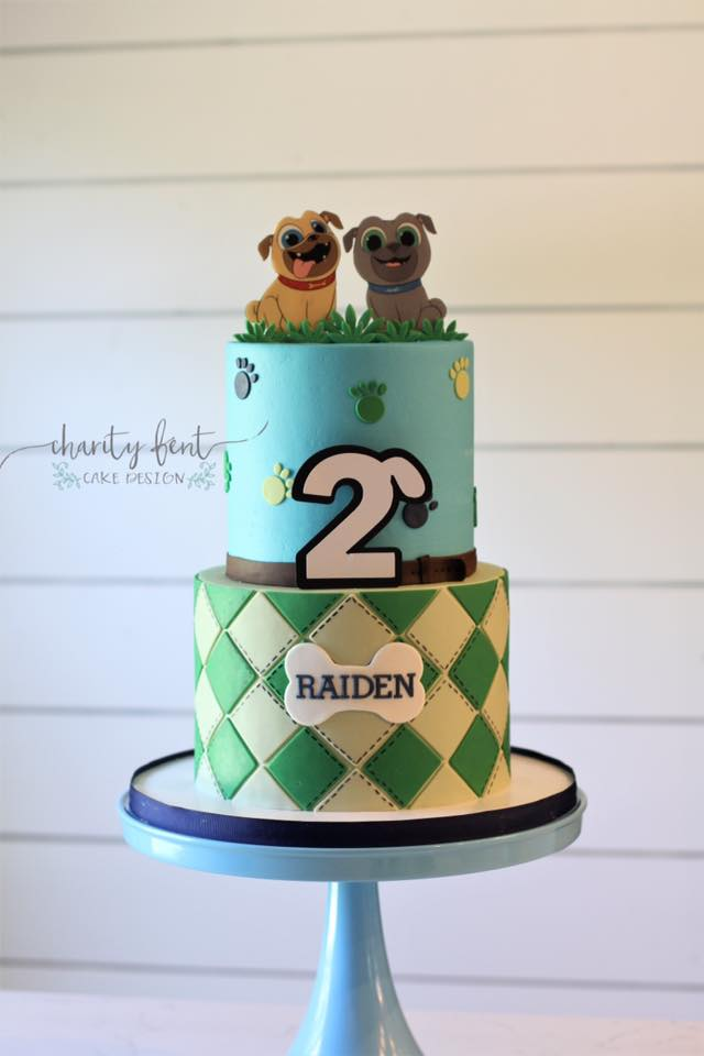 Puppy Pals Birthday Cake Charity Fent Cake Design