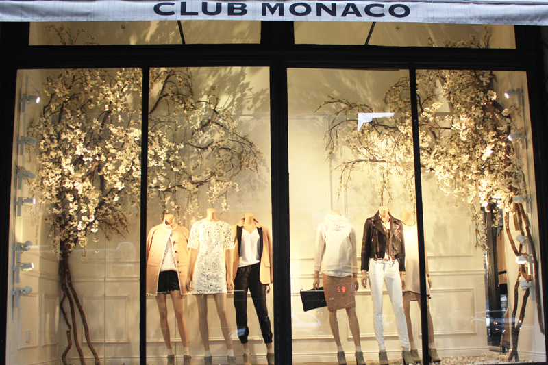 Flowering Spring Branches At Club Monaco CFD Blog