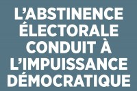 Appel à voter contre Marine Le Pen