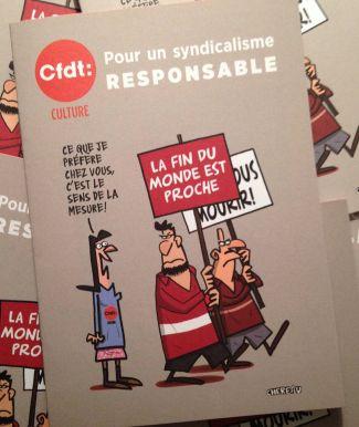 CFDT-CULTURE: pour un syndicalisme responsable. Livret spécial Elections