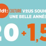La CFDT-CULTURE vous souhaite une belle année 2015