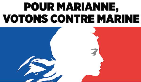 Pour Marianne, votons contre Marine