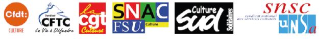 Logo CFDT CFTC CGT FSU SUD UNSA