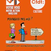 CFDT-CULTURE : pourquoi pas moi ? Elections 2018. Vignette