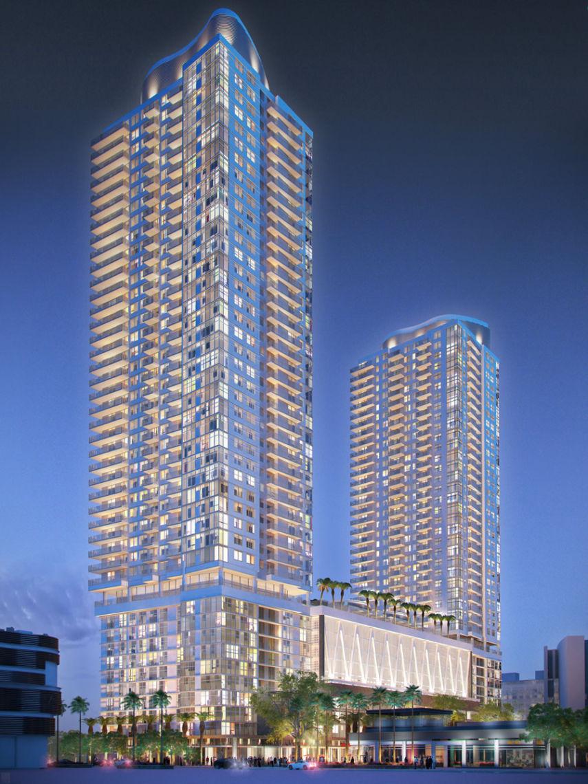 Miami Worldcenter Block G Cfe Architects