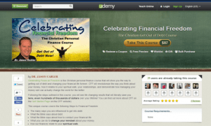 The Celebrating Financial Freedom Course is Now Live!