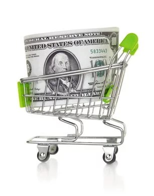 13 ways supermarkets trick you into spending more money - Shopping cash card paying spending ...