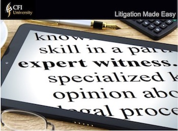 Certified Flooring Inspectors University [CFIU] Litigation Made Easy