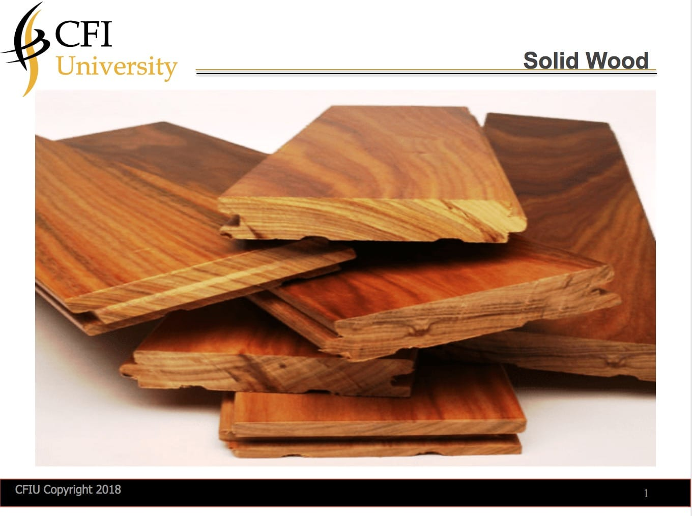 Solid Wood Flooring Inspections Online Training and Certification