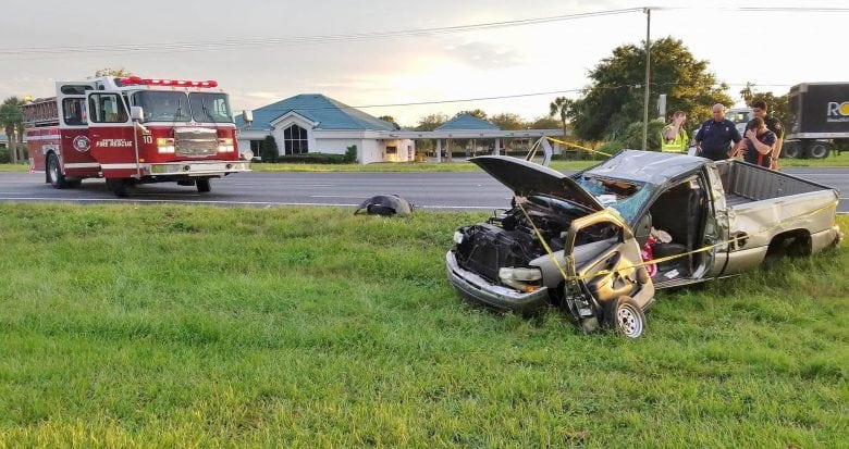 Woman Airlifted after accident in Summerfield
