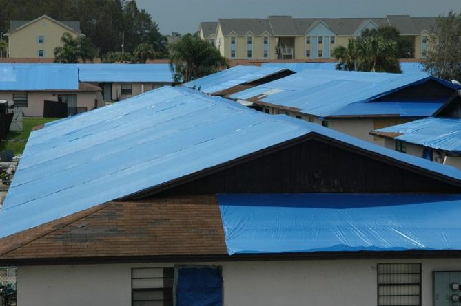 "Officials launch ""Operation Blue Roof"" to help protect Lake County residents' homes damaged by Hurricane Irma from further damage."