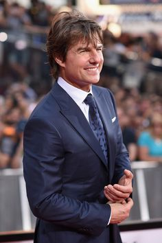 "Tom Cruise at ""Mission Impossible: Rogue Nation"" premiere.  Photo copyright Zimbio.com"